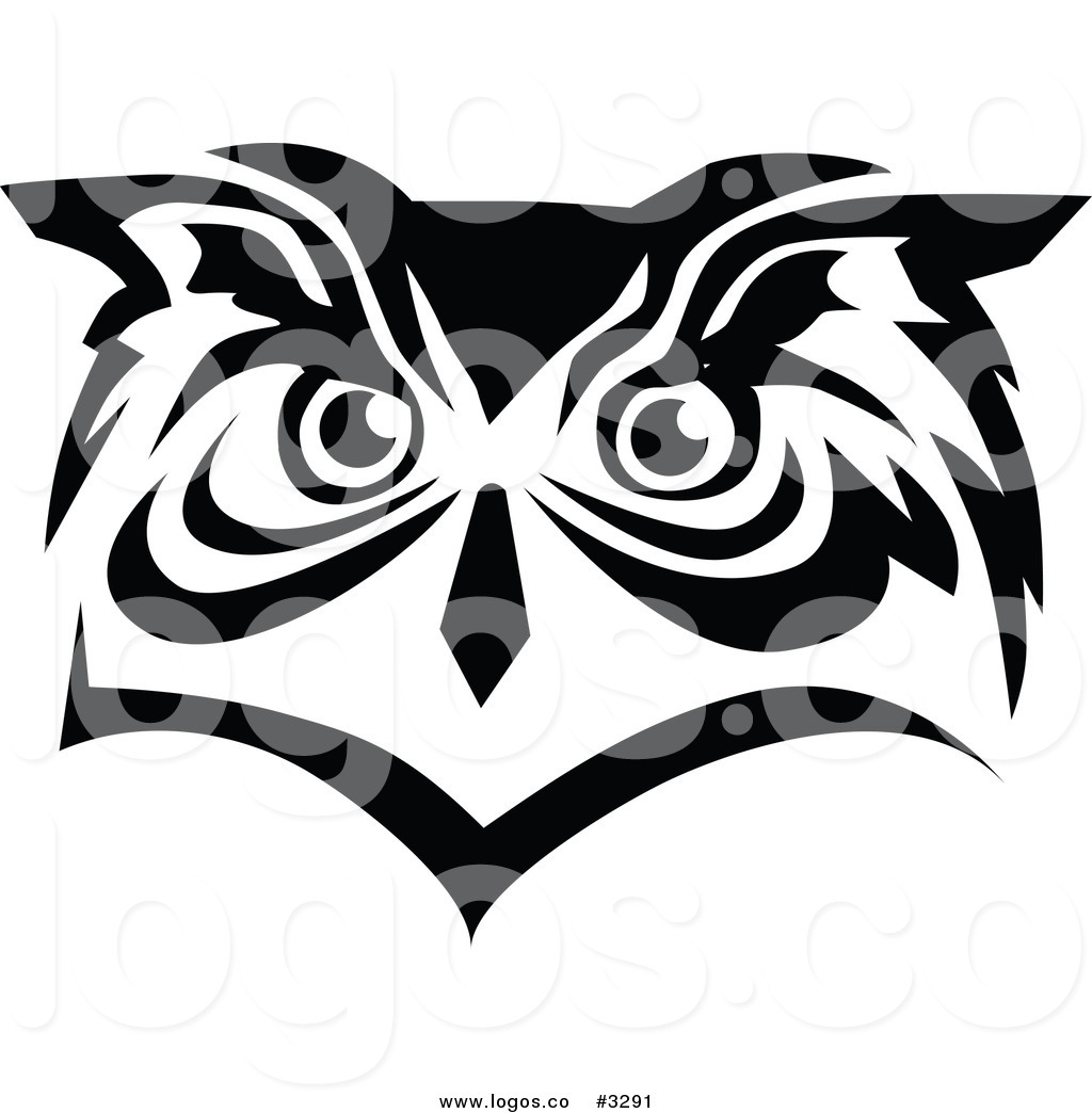 15 Vector Black And White Owl Images