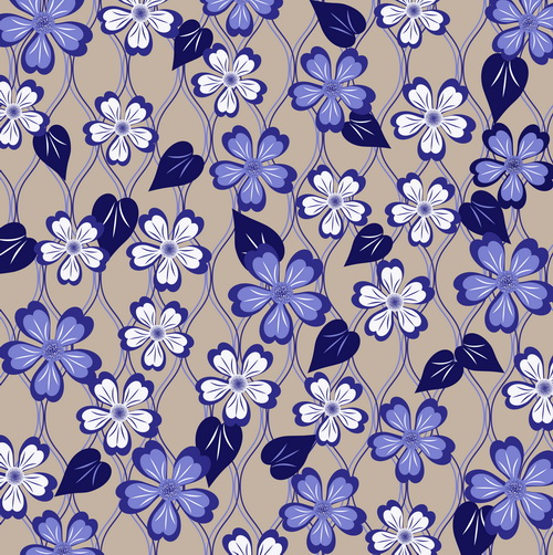 Free Seamless Vector Floral Pattern