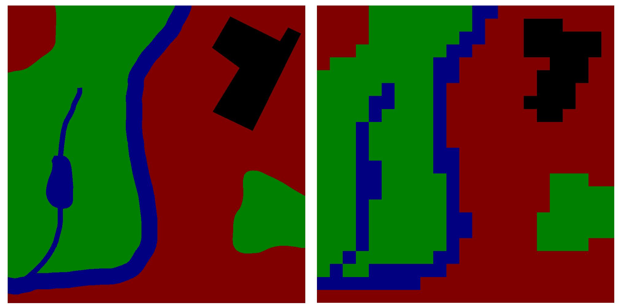 GIS Vector Raster