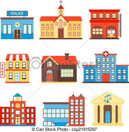 Government Buildings Clip Art Free