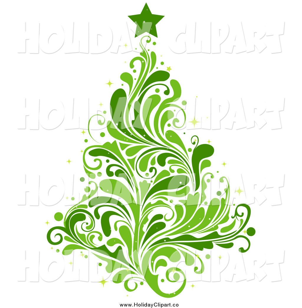 Green Christmas Tree Clip Art