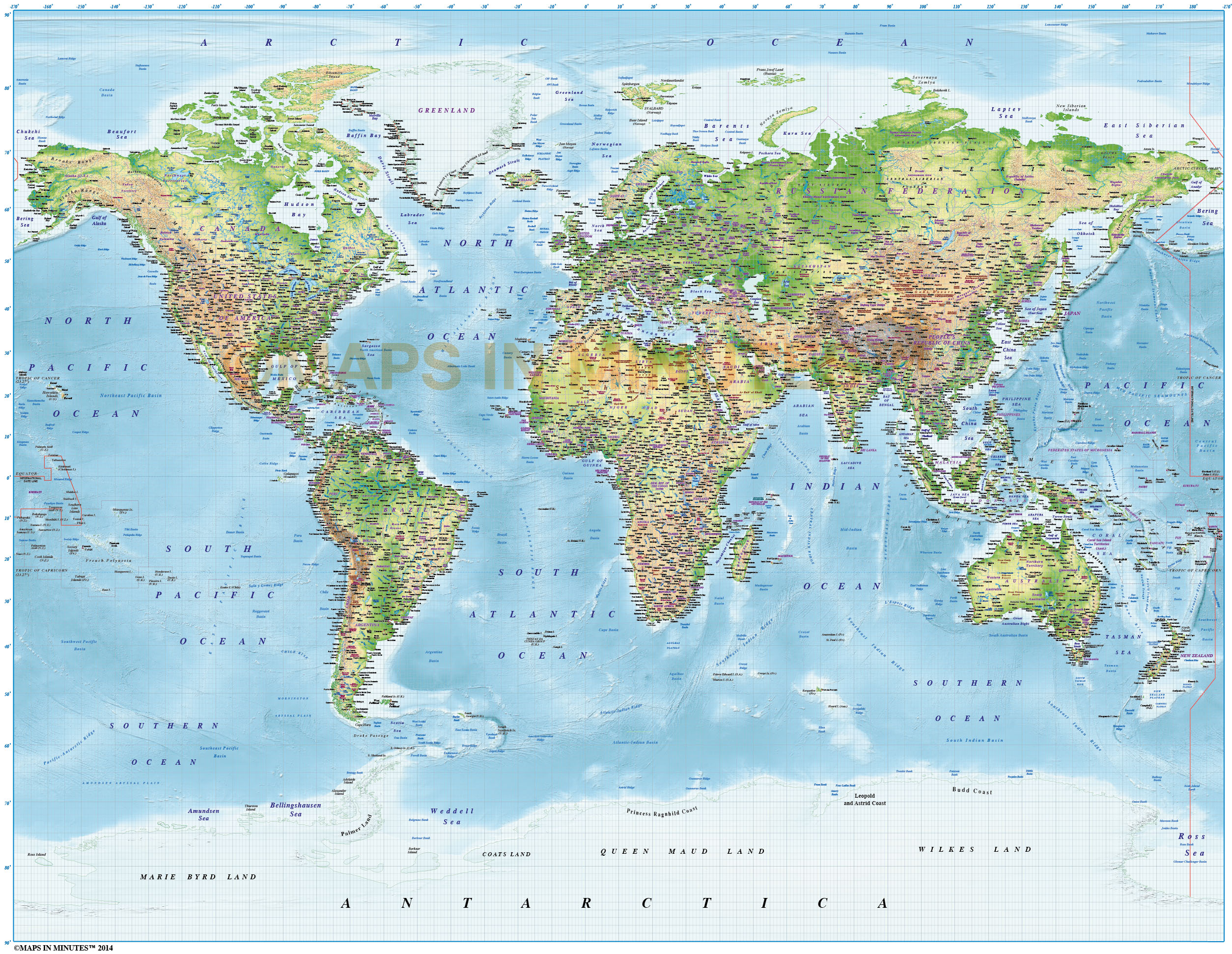 Hi res world maps fieldstation hi res world maps gumiabroncs Image collections