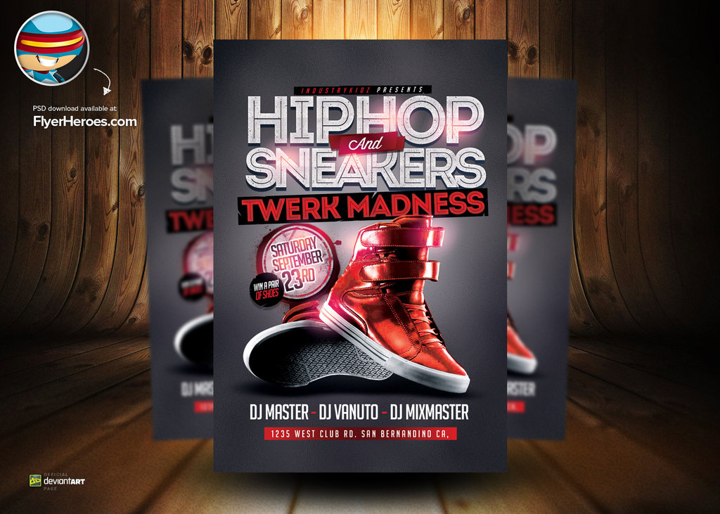 7 Hip Hop PSD Photoshop Images
