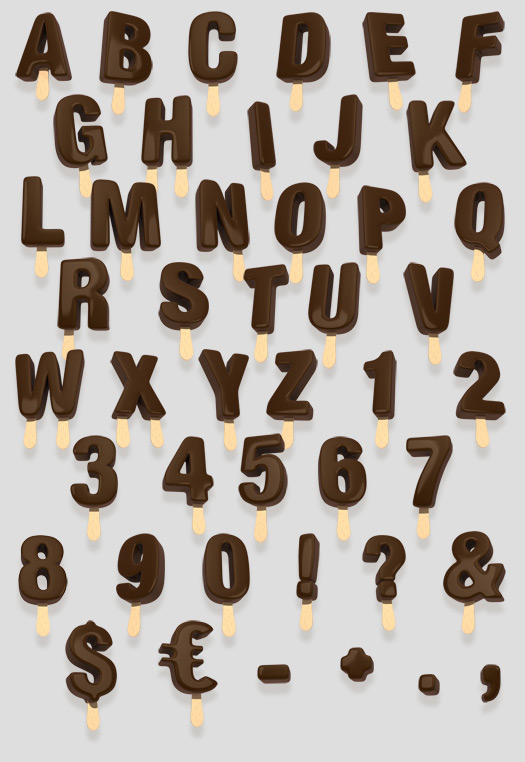 11 Ice Dripping Font Images