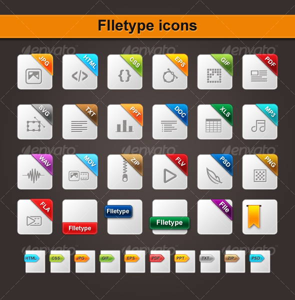 10 File Extension Icons Images