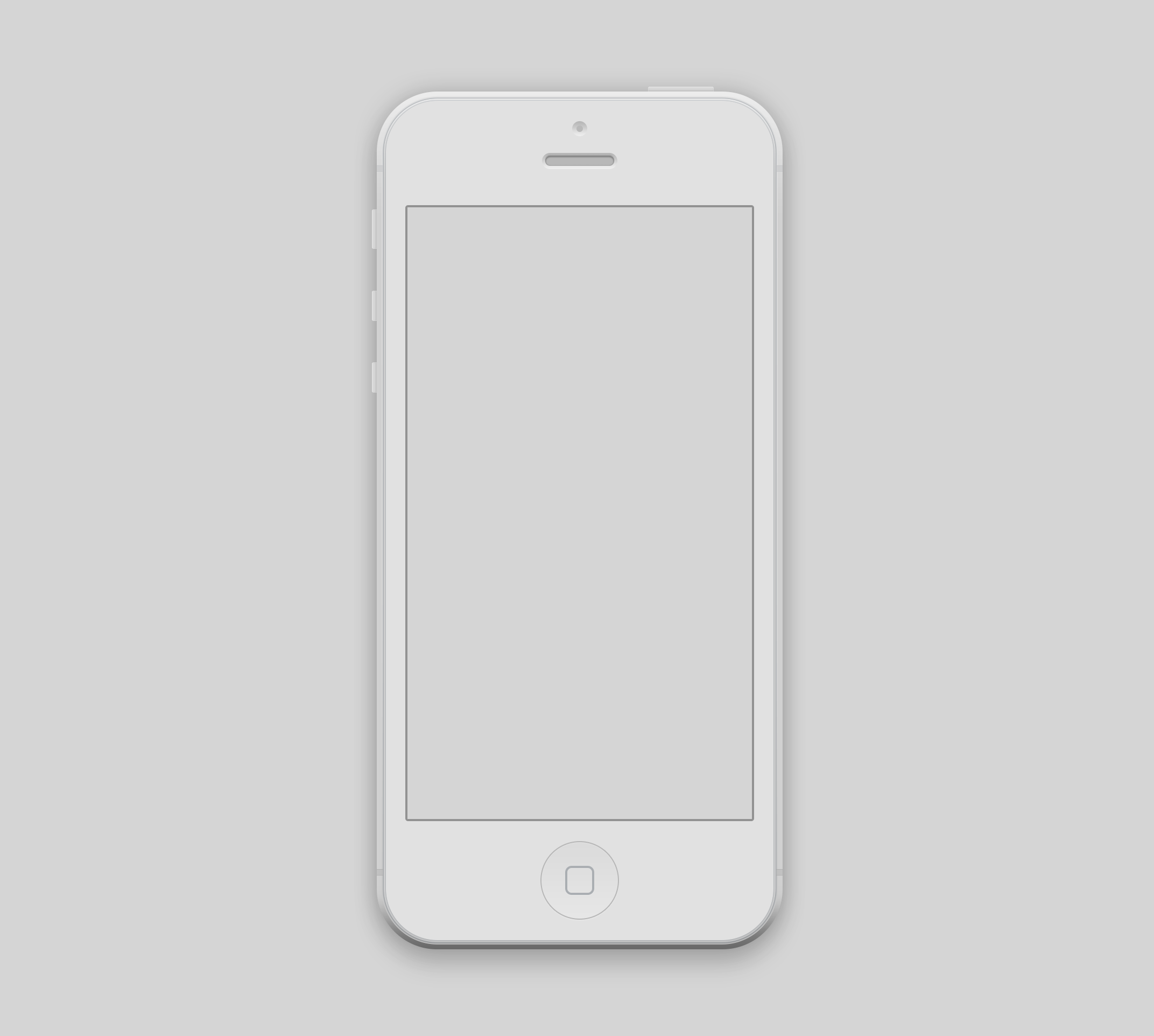 10 IPhone 5 Mockup Psd Free Images