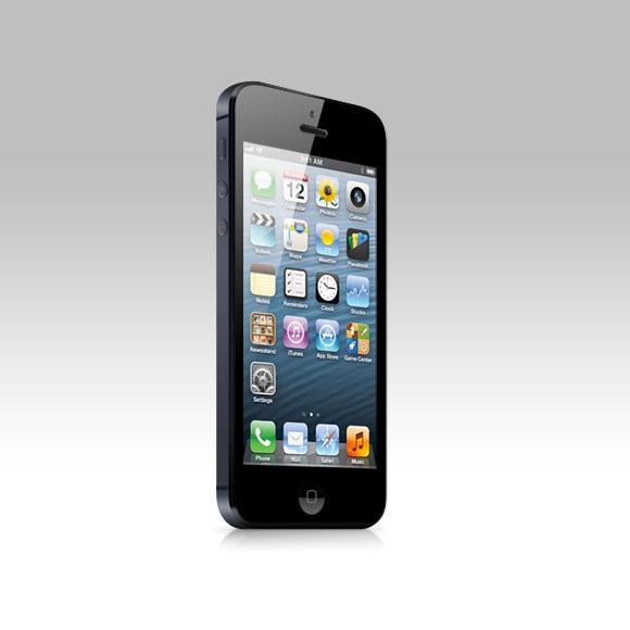 iPhone 5 Mockup PSD