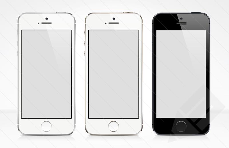 iPhone 5S Mockups Psd Free