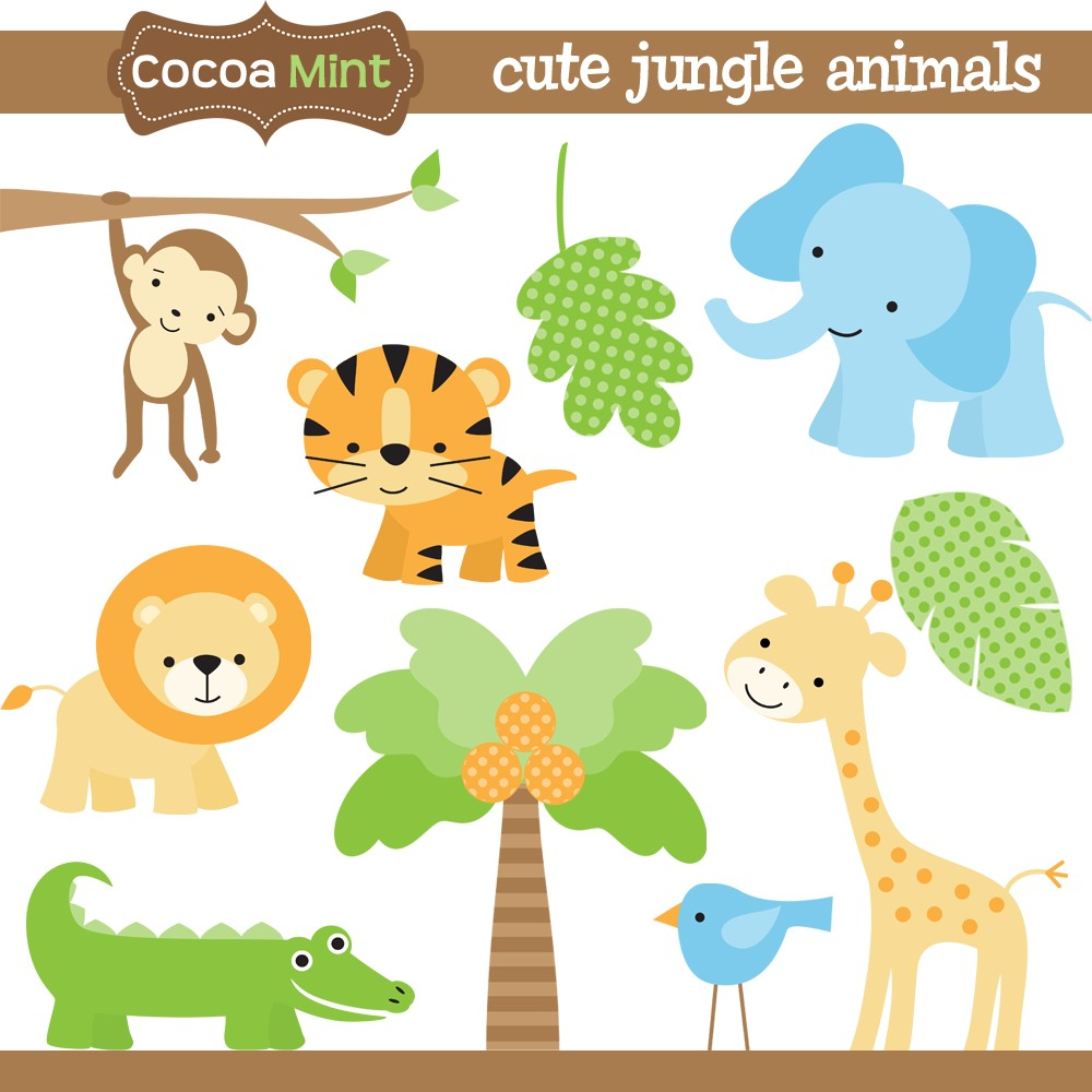 Line Art Jungle Animals : Safari animal templates images jungle animals baby