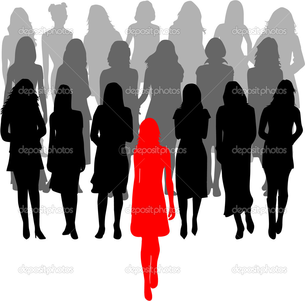 14 Vector Group Of Women Images