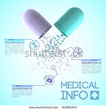 Medical Background Design Stock