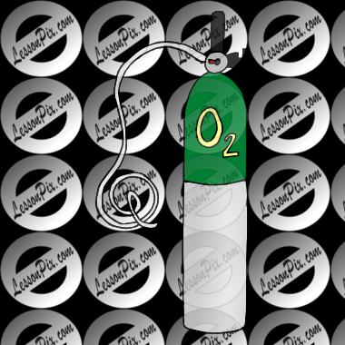 Medical Oxygen Tank Clip Art