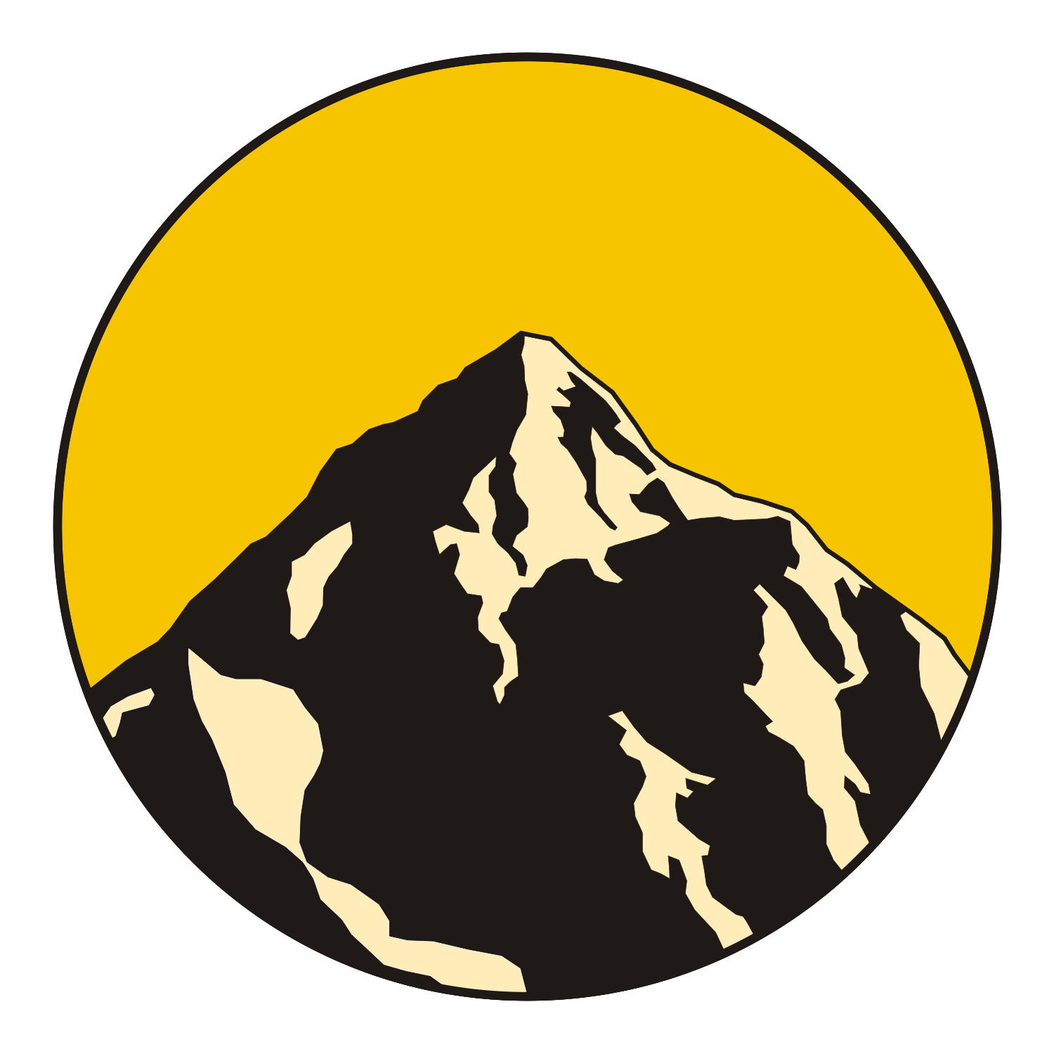 16 Mountain Vector Graphic Images - Honey bee, Mountain ...