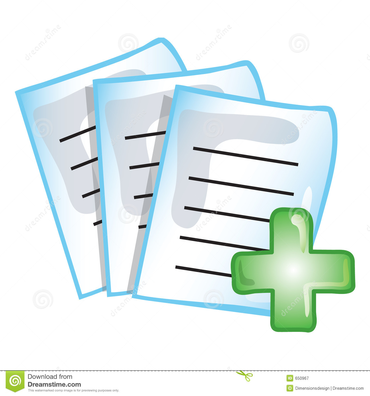 Patient Records Clip Art