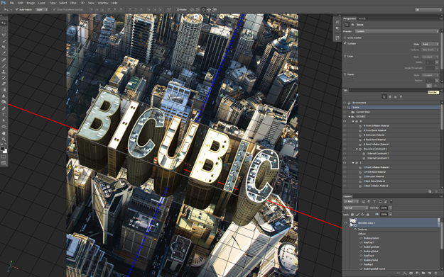 Photoshop CS6 3D Tutorial