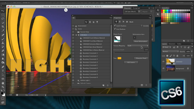 Photoshop CS6 3D