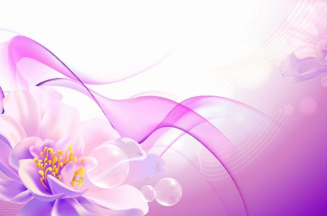 Pink Flower Vector Art