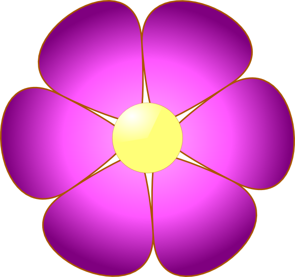 Pink Flowers Clip Art Free