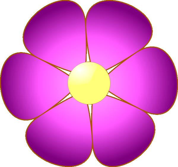 Pink Flowers Clip Art Free