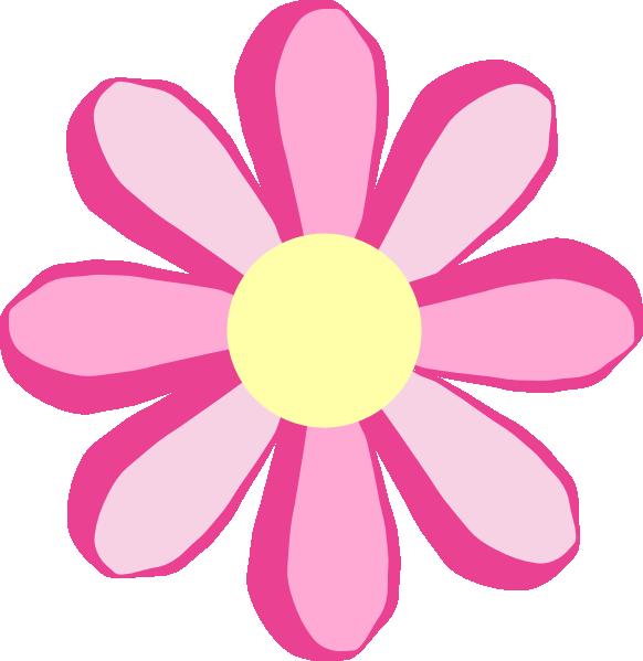 16 Flower Pink Vector Clip Art Images