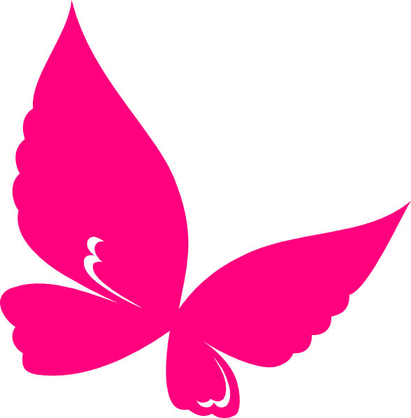 10 Pink Butterfly Icon Images