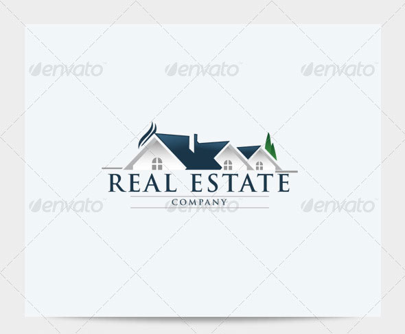 10 Real Estate Logo PSD Images