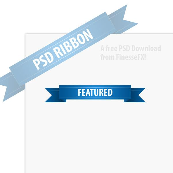 Ribbon Banner Vector Free Download