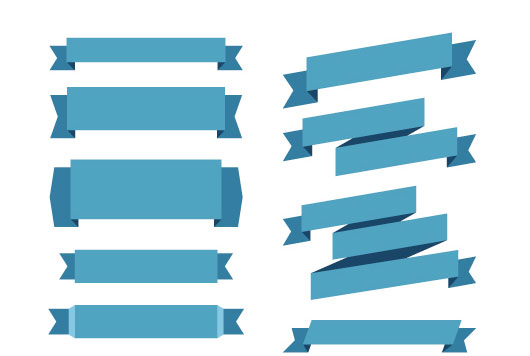 Ribbon Banner Vector Free
