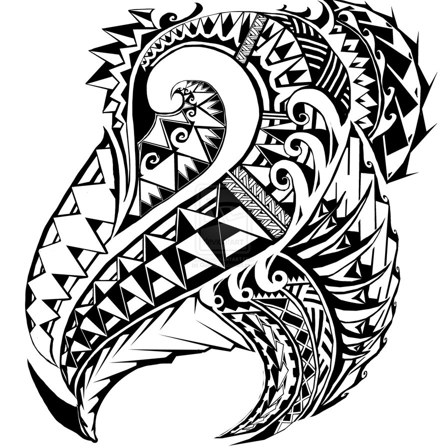 15 Hawaiian Tribal Art Designs Images - Hawaiian Tribal ...