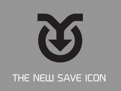 12 Modern Save Icon Images