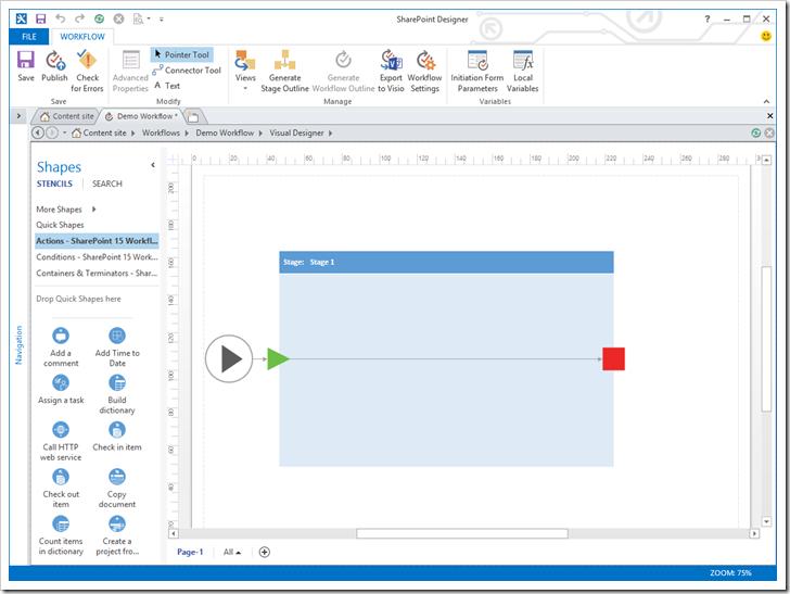 SharePoint 2013 Workflow
