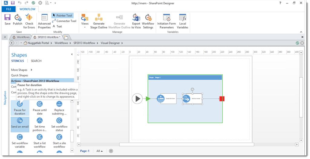 SharePoint Designer 2013 Workflow