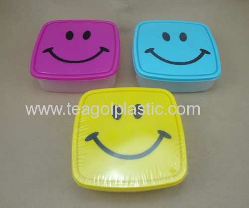 Smiley-Face Lunch Box