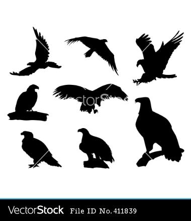 Soaring Eagle Silhouette Tattoo