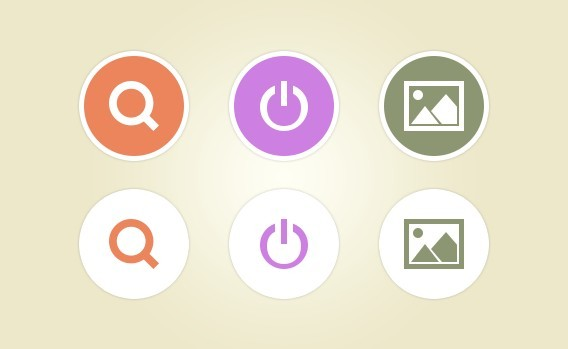 Style Flat Icons PSD