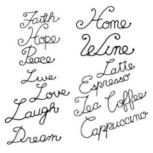 The Word Love in Cursive Font