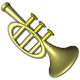 Trumpet Instrument Cartoon