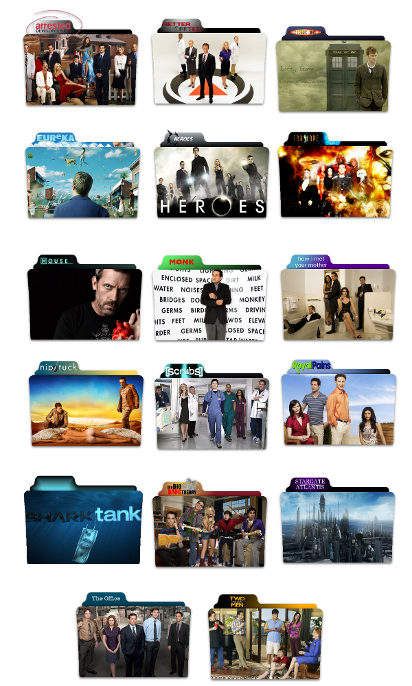 TV Show Folder Icons