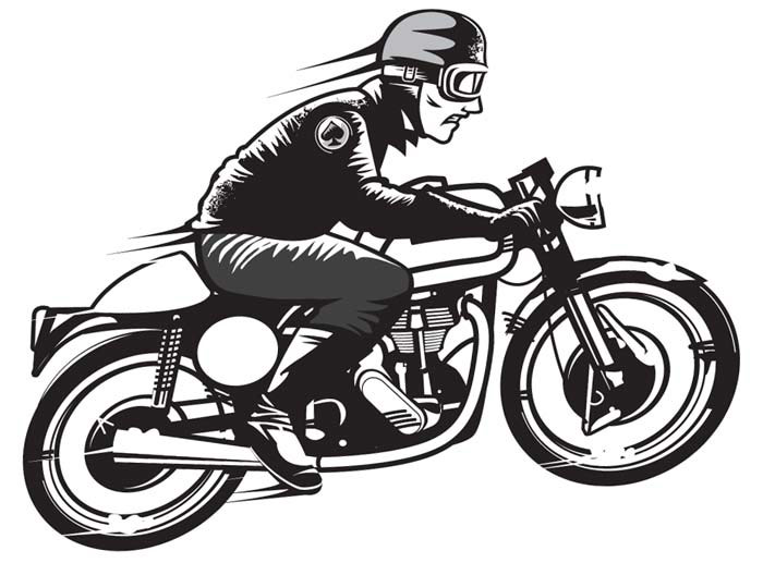 Post motorcycle Club Logo Vector 377326