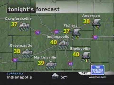 Weather Channel Local Forecast for Old Logo