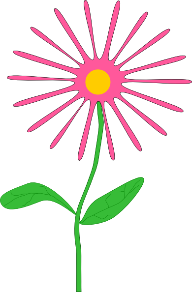 Whimsical Flower Clip Art Free