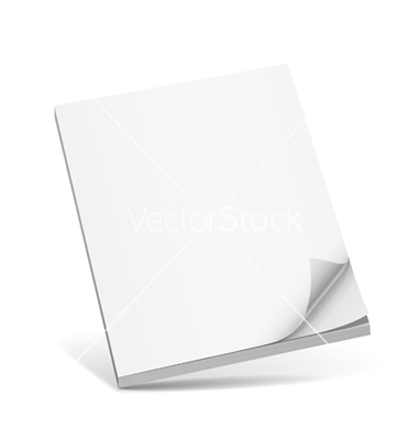 White Blank Book Cover Templates