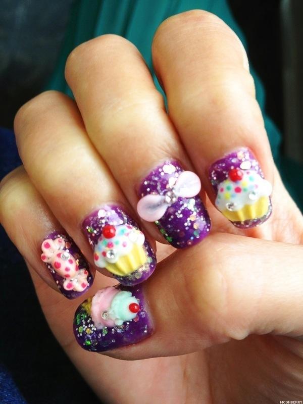 3D Candy Nail Design