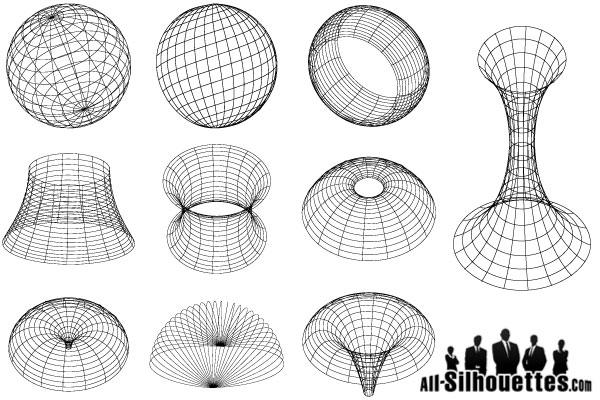 9 Vector Geometric Forms Images
