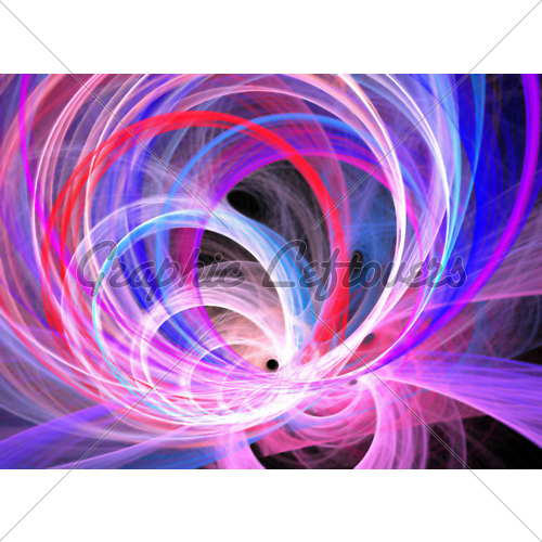 Abstract Graphic Design Swirls