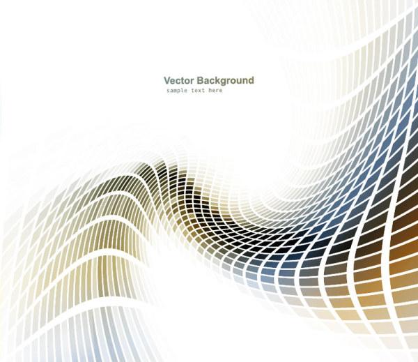 Abstract Vector Art Swirls