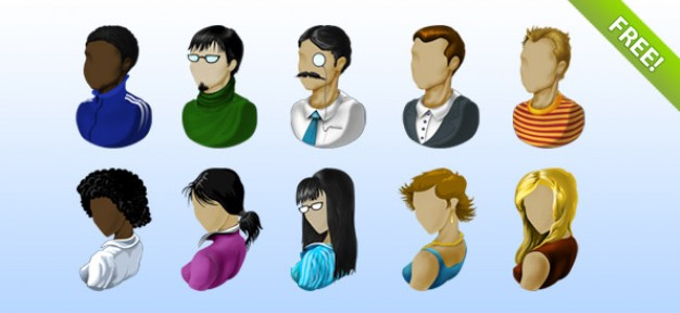 Avatar Icons Free Download