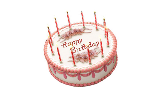 Birthday Cake Invitation Template