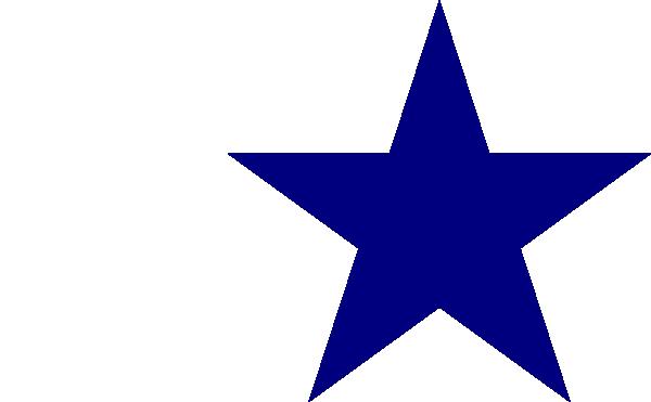 Blue Star Clip Art Free