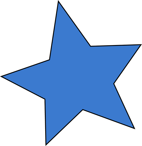 Blue Star Clip Art Transparent